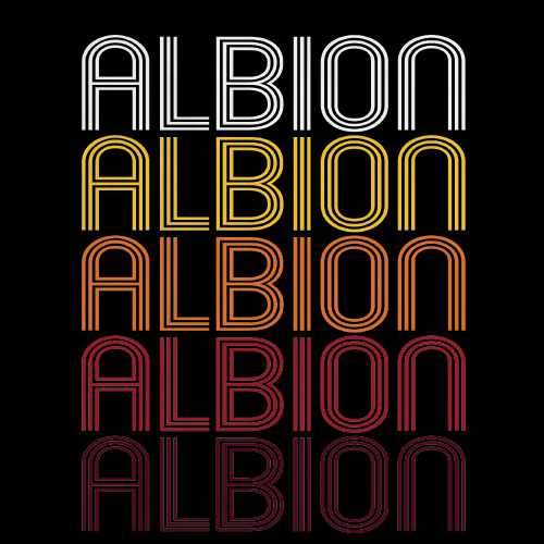 Albion, IN | Retro, Vintage Style Indiana Pride