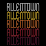 Allentown, NJ | Retro, Vintage Style New Jersey Pride
