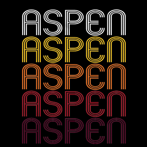 Aspen, CO | Retro, Vintage Style Colorado Pride