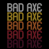 Bad Axe, MI | Retro, Vintage Style Michigan Pride
