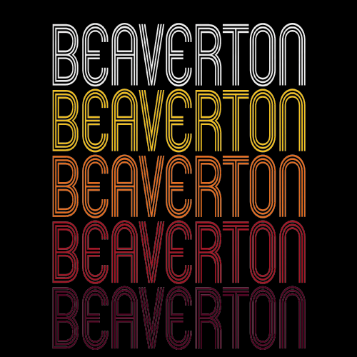 Beaverton, OR | Retro, Vintage Style Oregon Pride