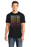 Standard Black Bend, OR | Retro, Vintage Style Oregon Pride  T-shirt