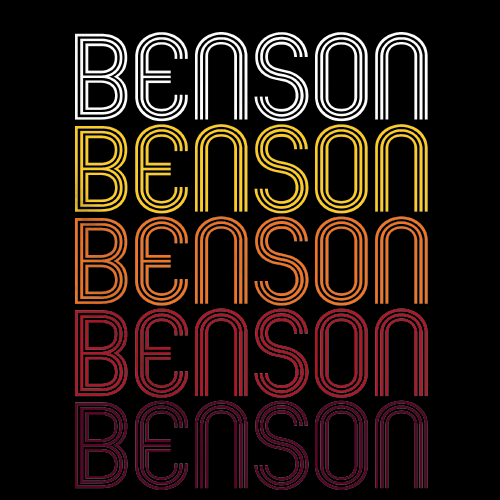 Benson, NC | Retro, Vintage Style North Carolina Pride