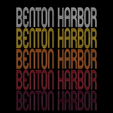 Benton Harbor, MI | Retro, Vintage Style Michigan Pride