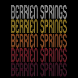Berrien Springs, MI | Retro, Vintage Style Michigan Pride