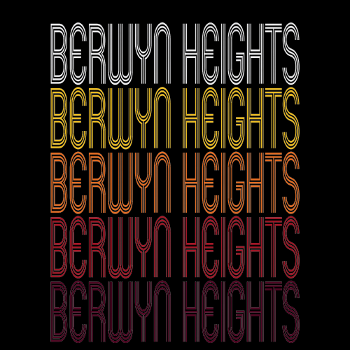 Berwyn Heights, MD | Retro, Vintage Style Maryland Pride