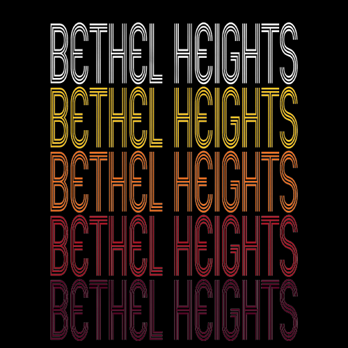 Bethel Heights, AR | Retro, Vintage Style Arkansas Pride