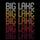 Big Lake, TX | Retro, Vintage Style Texas Pride