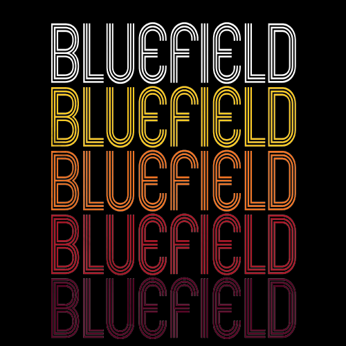 Bluefield, WV | Retro, Vintage Style West Virginia Pride