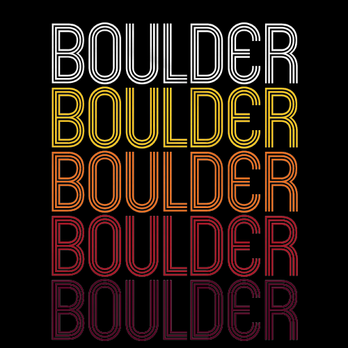Boulder, CO | Retro, Vintage Style Colorado Pride