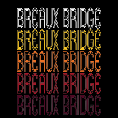 Breaux Bridge, LA | Retro, Vintage Style Louisiana Pride