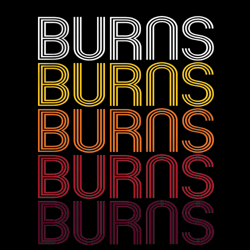 Burns, TN | Retro, Vintage Style Tennessee Pride