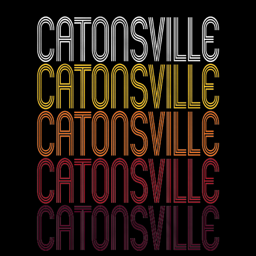 Catonsville, MD | Retro, Vintage Style Maryland Pride