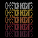 Chester Heights, PA | Retro, Vintage Style Pennsylvania Pride