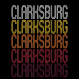 Clarksburg, WV | Retro, Vintage Style West Virginia Pride