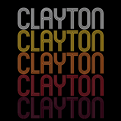 Clayton, NC | Retro, Vintage Style North Carolina Pride