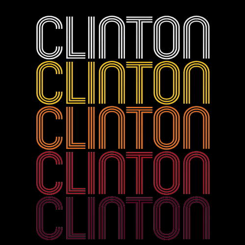 Clinton, NJ | Retro, Vintage Style New Jersey Pride
