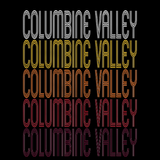 Columbine Valley, CO | Retro, Vintage Style Colorado Pride