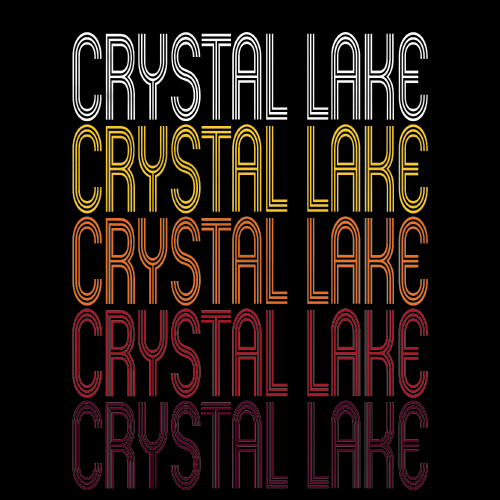 Crystal Lake, IL | Retro, Vintage Style Illinois Pride
