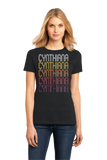 Ladies Black Cynthiana, KY | Retro, Vintage Style Kentucky Pride  T-shirt
