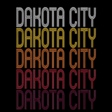 Dakota City, NE | Retro, Vintage Style Nebraska Pride