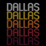 Dallas, TX | Retro, Vintage Style Texas Pride