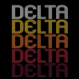 Delta, CO | Retro, Vintage Style Colorado Pride