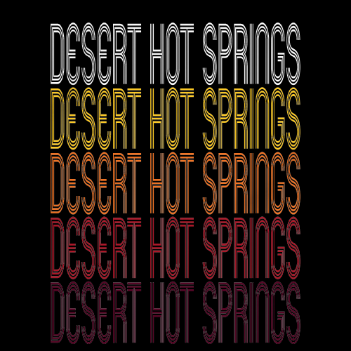 Desert Hot Springs, CA | Retro, Vintage Style California Pride