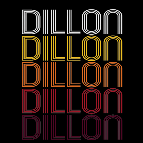 Dillon, SC | Retro, Vintage Style South Carolina Pride