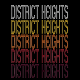 District Heights, MD | Retro, Vintage Style Maryland Pride