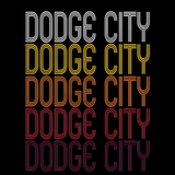 Dodge City, KS | Retro, Vintage Style Kansas Pride