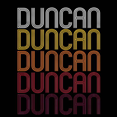 Duncan, SC | Retro, Vintage Style South Carolina Pride