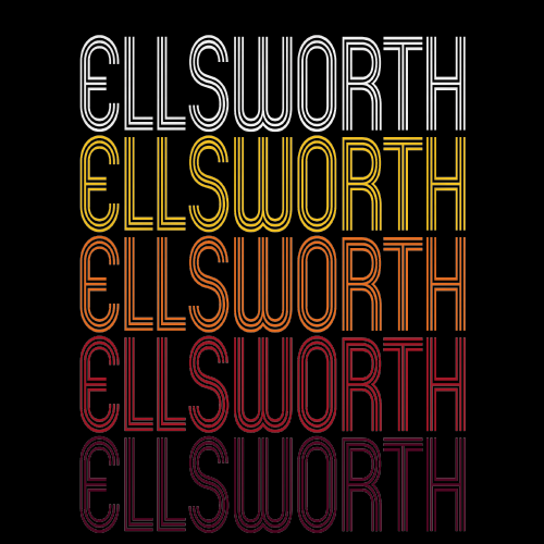 Ellsworth, KS | Retro, Vintage Style Kansas Pride