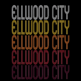 Ellwood City, PA | Retro, Vintage Style Pennsylvania Pride