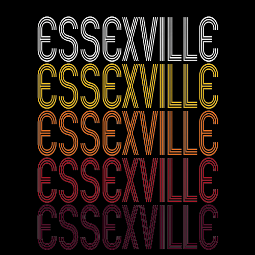 Essexville, MI | Retro, Vintage Style Michigan Pride