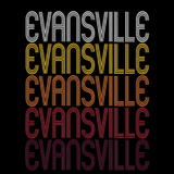 Evansville, IN | Retro, Vintage Style Indiana Pride