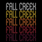 Fall Creek, WI | Retro, Vintage Style Wisconsin Pride