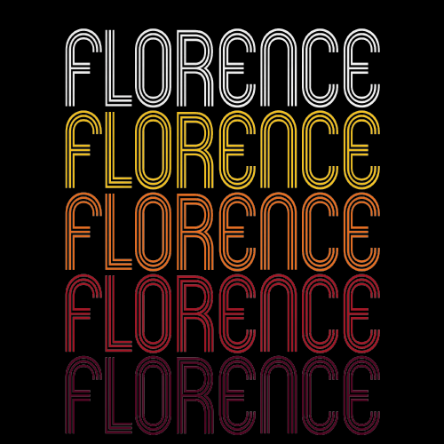 Florence, SC | Retro, Vintage Style South Carolina Pride