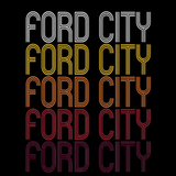 Ford City, PA | Retro, Vintage Style Pennsylvania Pride