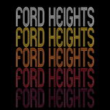 Ford Heights, IL | Retro, Vintage Style Illinois Pride