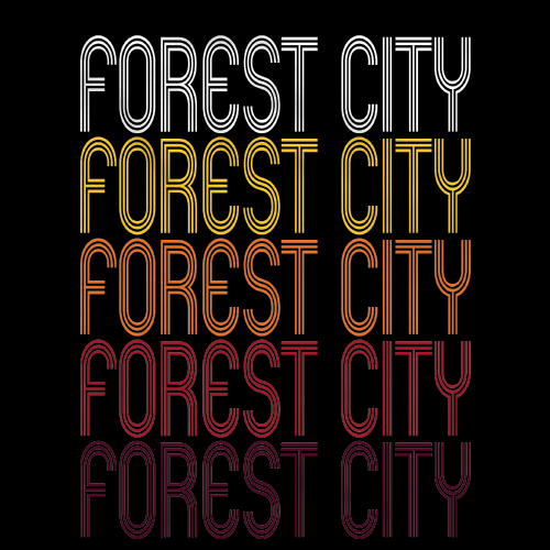 Forest City, PA | Retro, Vintage Style Pennsylvania Pride