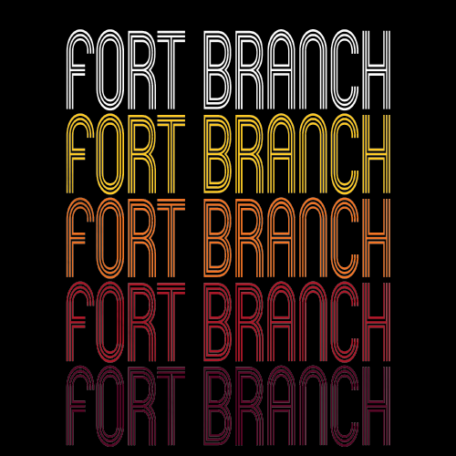 Fort Branch, IN | Retro, Vintage Style Indiana Pride