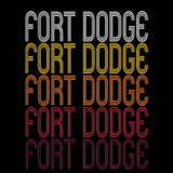 Fort Dodge, IA | Retro, Vintage Style Iowa Pride
