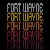 Fort Wayne, IN | Retro, Vintage Style Indiana Pride
