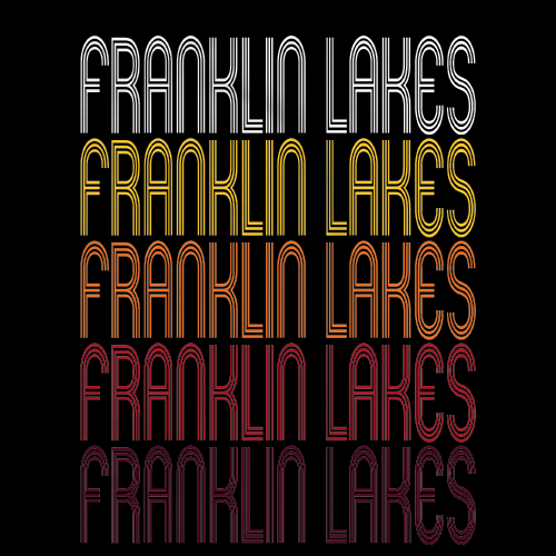 Franklin Lakes, NJ | Retro, Vintage Style New Jersey Pride