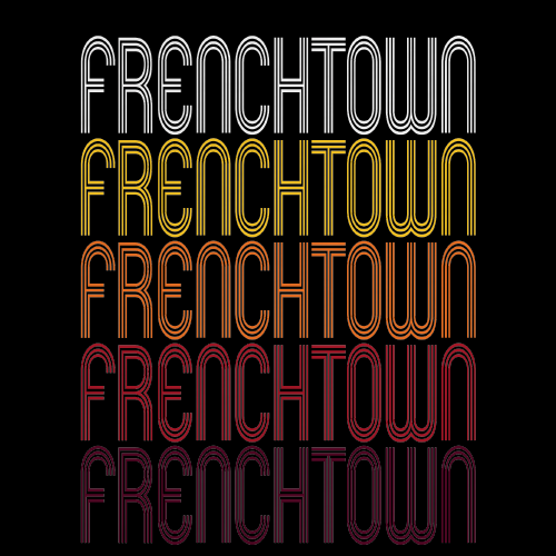 Frenchtown, NJ | Retro, Vintage Style New Jersey Pride