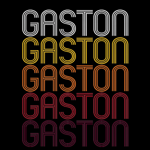 Gaston, SC | Retro, Vintage Style South Carolina Pride