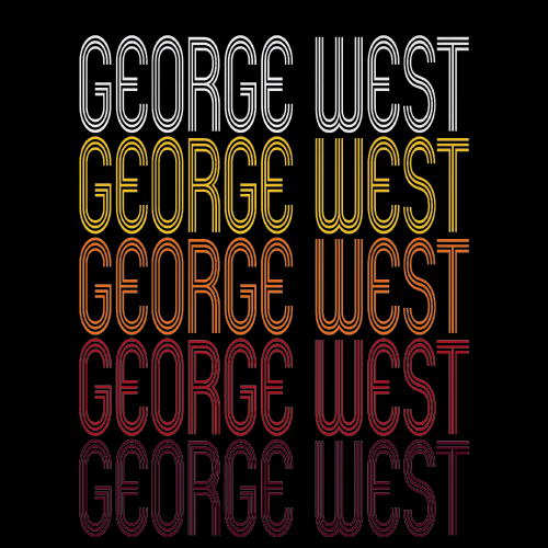 George West, TX | Retro, Vintage Style Texas Pride