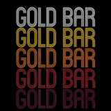 Gold Bar, WA | Retro, Vintage Style Washington Pride