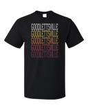 Standard Black Goodlettsville, TN | Retro, Vintage Style Tennessee Pride  T-shirt